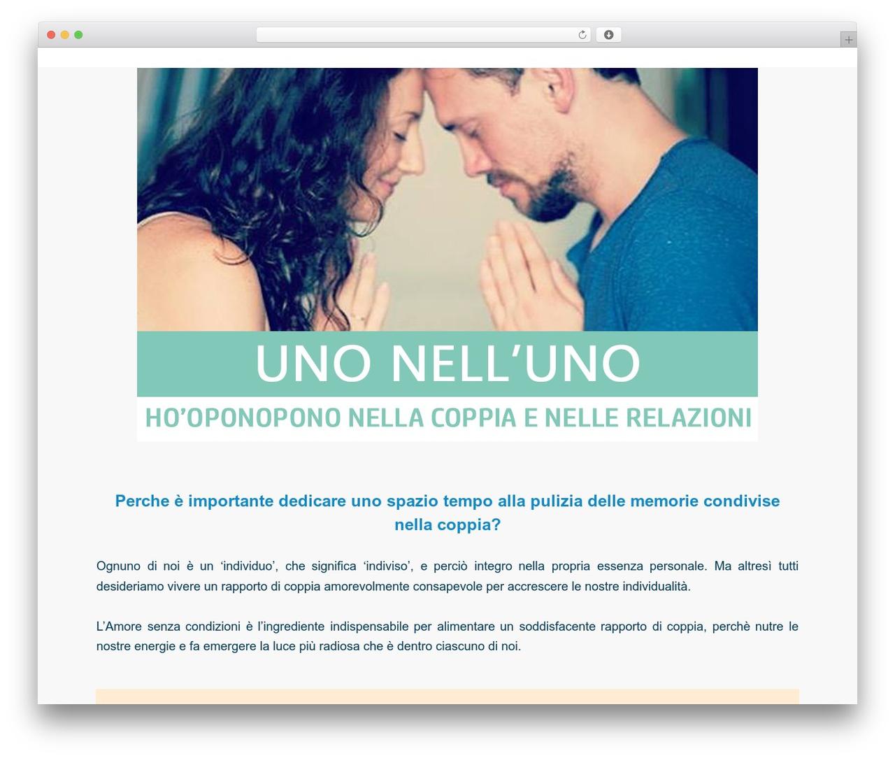 Twenty Fifteen free WordPress theme - unonelluno.com