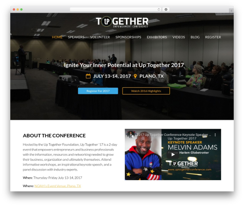 WordPress simple-ads-manager plugin - uptogetherconference.com