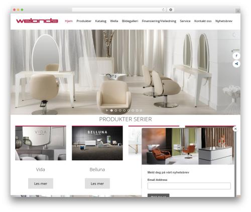 WordPress template alterna9 - welonda.no