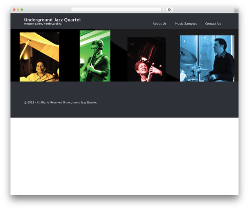 WordPress template Rectangulum - undergroundjazz.info