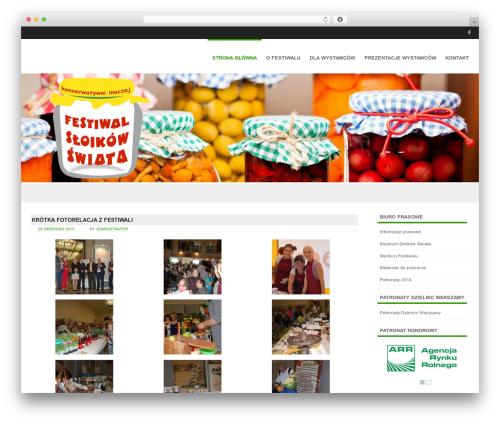 WordPress theme Formation - festiwalsloikow.pl