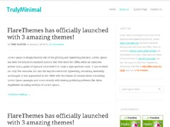 WP template TrulyMinimal