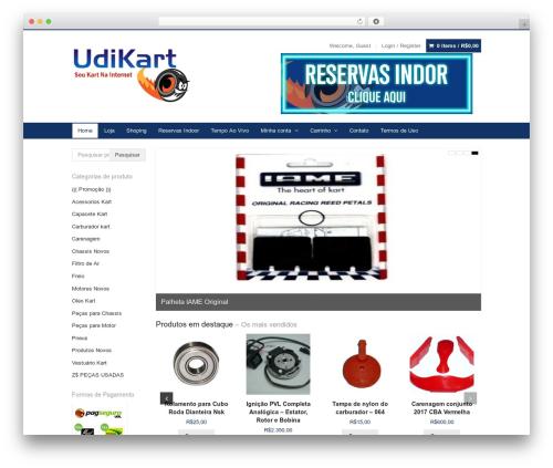 WP theme Xing - udikart.com.br