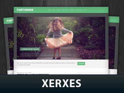 Xerxes premium WordPress theme