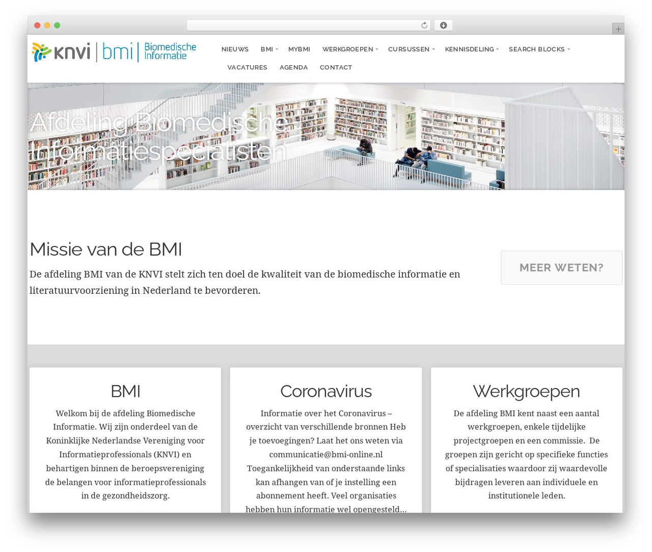GivingPress Lite WordPress page template - bmi-online.nl