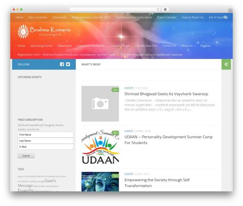 WordPress gallery-video plugin - brahmakumarischandigarh.com