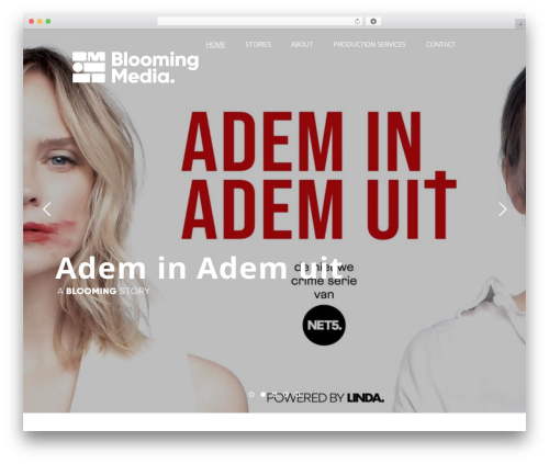 Pitch WordPress theme - bloomingmedia.nl