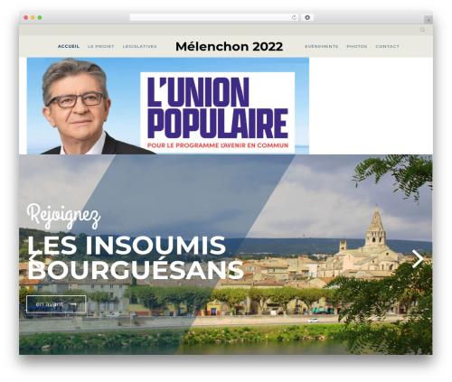 Politist WordPress theme - bsavenir.fr