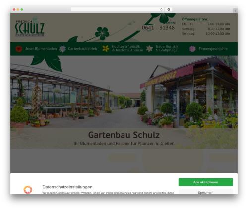 Theme WordPress blumenhaus_schulz - blumenhaus-schulz.de