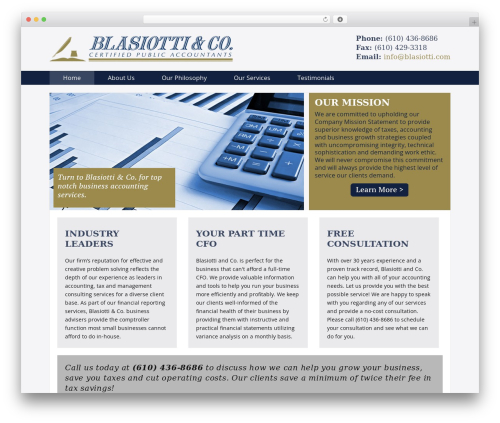 Theme WordPress Dynamik - blasiotti.com