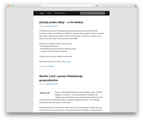 Twenty Eleven free website theme - brzi-posao.com