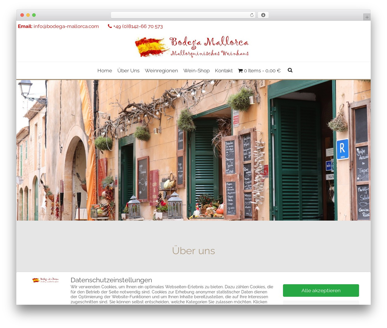 AccessPress Staple Pro WordPress theme - bodega-mallorca.com