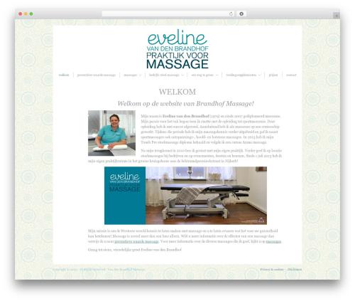 Blissful-Blog massage WordPress theme - brandhofmassage.nl