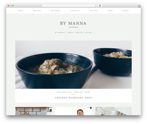 Kindred premium WordPress theme - bymanna.com