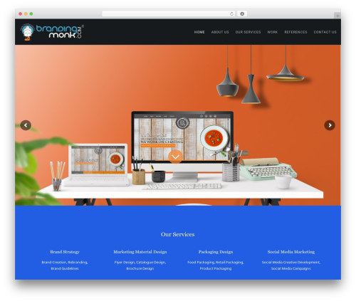 Movedo company WordPress theme - brandingmonk.com