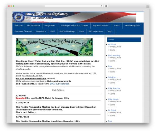 Smartline premium WordPress theme - brcv-rodgun.org