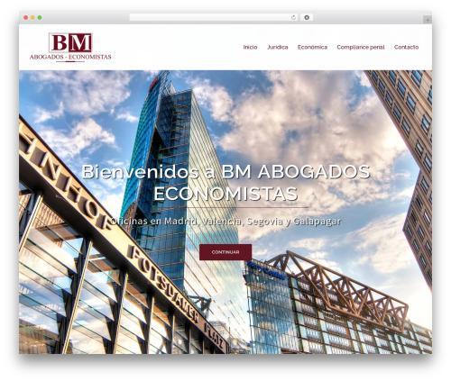 Sydney best free WordPress theme - bmlegal.es
