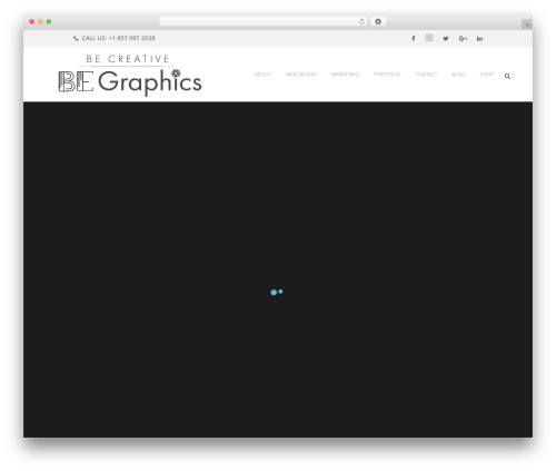 Template WordPress Bridge - bonnieevansgraphics.com