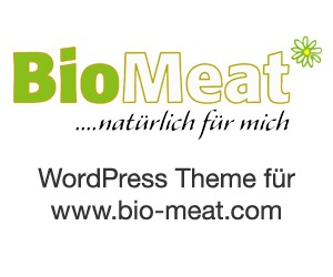 WordPress theme BioMeat