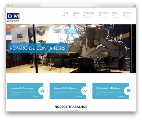Arkitekt best WordPress template - bmlocacoes.com.br