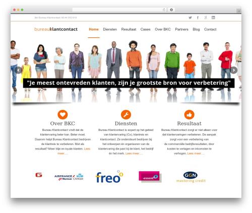 WordPress logos-showcase plugin - bureauklantcontact.nl