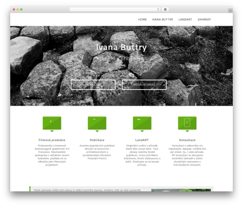 Lucy WordPress theme - buttry.eu