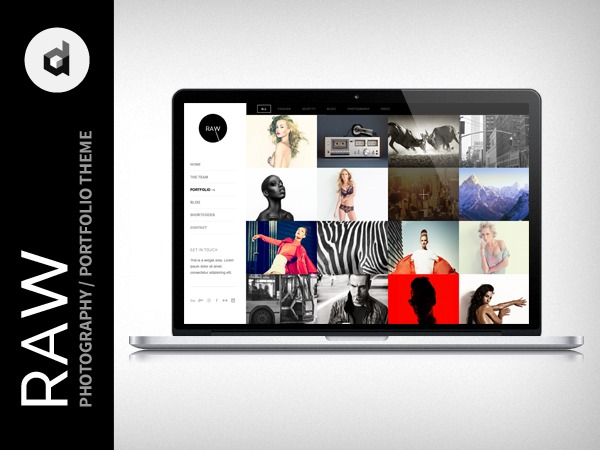 Raw best WordPress gallery