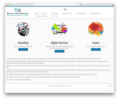 Template WordPress Customizr - busymarketing.co.za