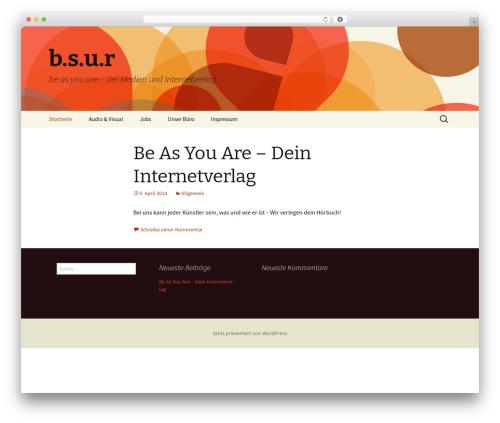 Twenty Thirteen WordPress theme download - bsur-music.com