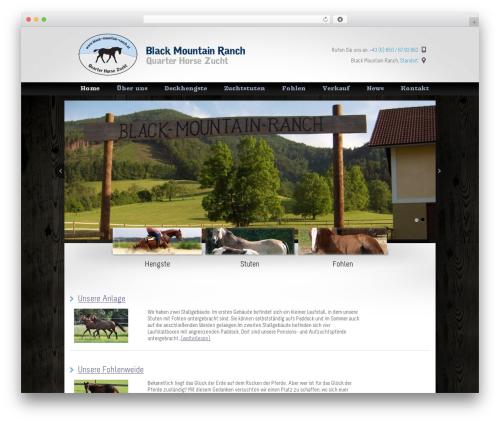 WordPress theme Welcome Inn - black-mountain-ranch.at