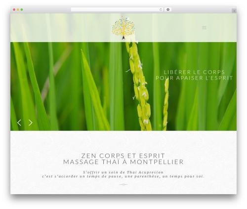 Betheme template WordPress - zen-corps-et-esprit.com