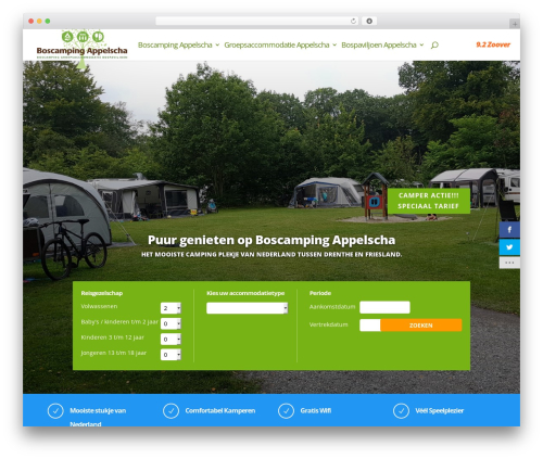 WordPress monarch plugin - boscampingappelscha.nl
