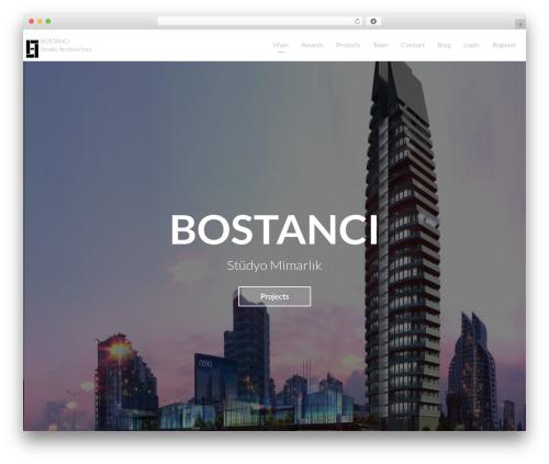 Light Dose theme WordPress - bostancimimarlik.com