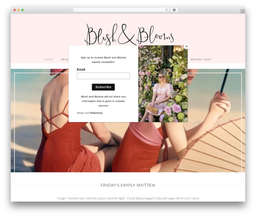 Free WordPress Sticky Side Buttons plugin - blushandblooms.com