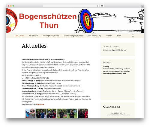 Theme WordPress Twenty Thirteen - bs-thun.ch