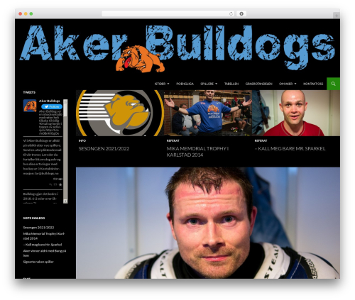Free WordPress Teamstuff Calendar plugin - bulldogs.no