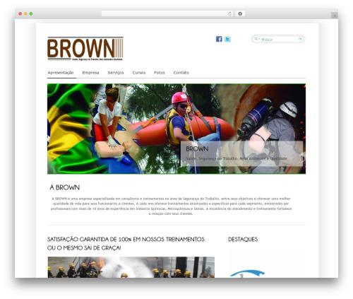 WordPress theme Cloriato Lite - brownseg.com.br