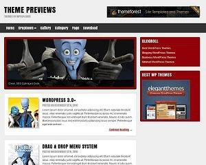 Anton Wordpress Theme WordPress theme