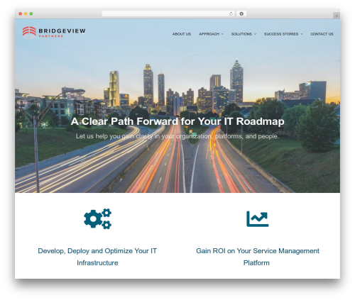 cronus company WordPress theme - bridgeviewpartners.com