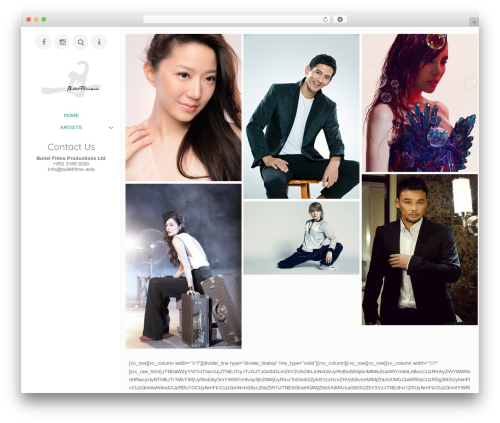 ePix theme WordPress - bulletfilms.asia