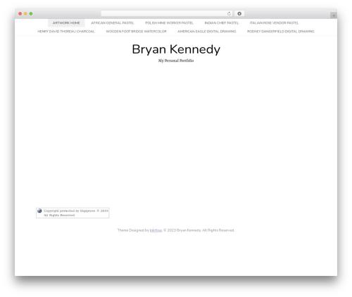 Hanne WordPress page template - bryan-kennedy.me