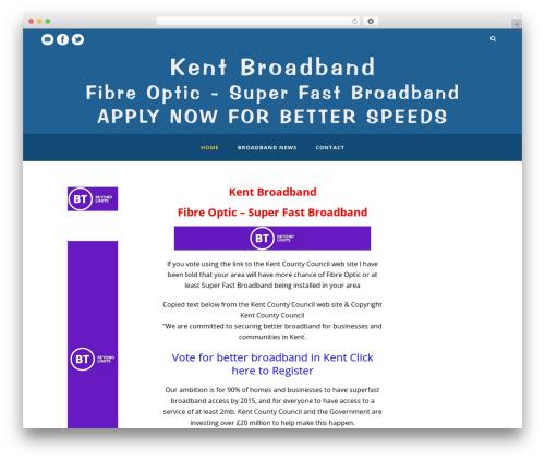 Mediso theme WordPress - broadbandkent.co.uk