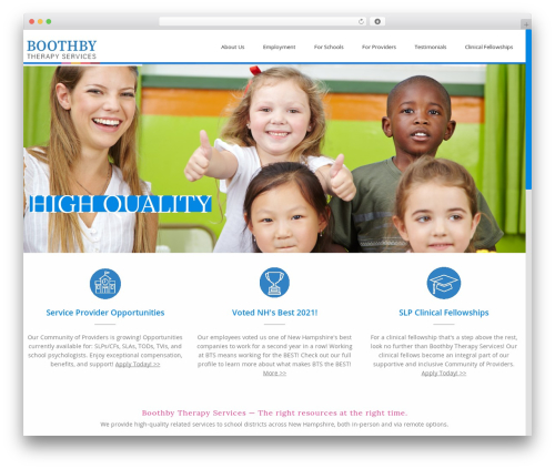 Theme WordPress Advertica - boothbytherapy.com