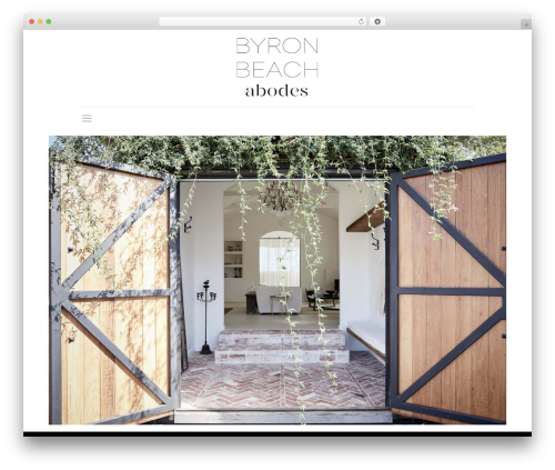 Best WordPress template Betheme - byronbeachabodes.com.au
