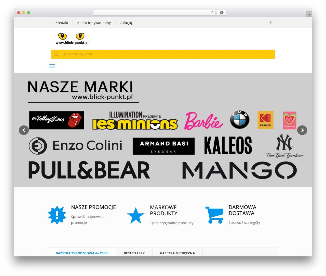 Betheme template WordPress - blick-punkt.pl