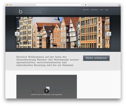 inFocus WP theme - bleeker-steuerberater.de