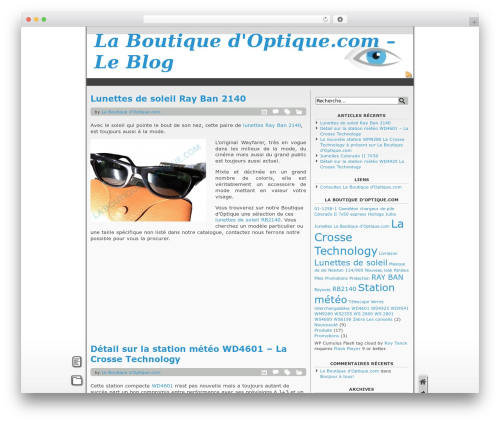 Template WordPress Fastfood - blog.laboutiquedoptique.com