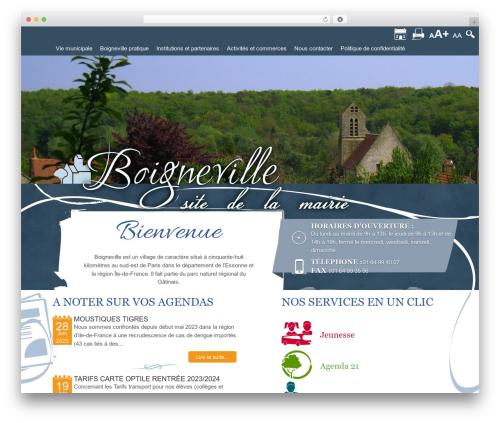 Twenty Thirteen premium WordPress theme - boigneville.fr