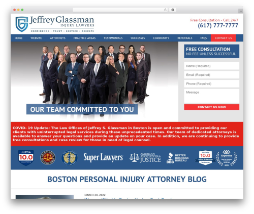 Willow-Responsive premium WordPress theme - bostonpersonalinjuryattorneyblog.com