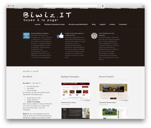 WordPress template Swatch - biwiz.it
